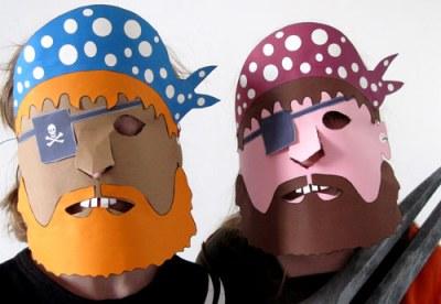 deux-masques-pirates-