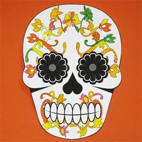 masque mort