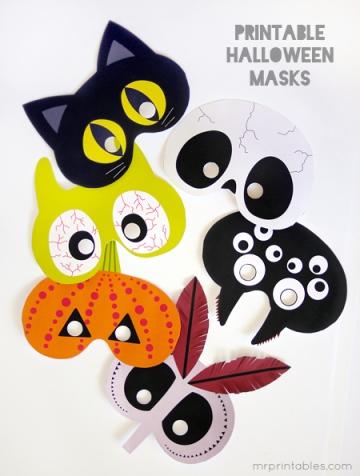 new printable-halloween-masks